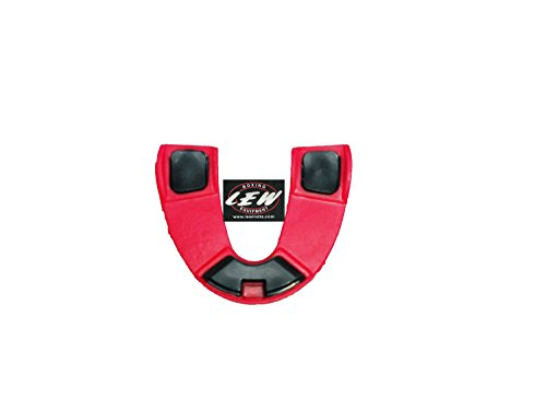 LEW Deluxe Mouth Guard- Red & White with Box  available at amazon for Rs.109