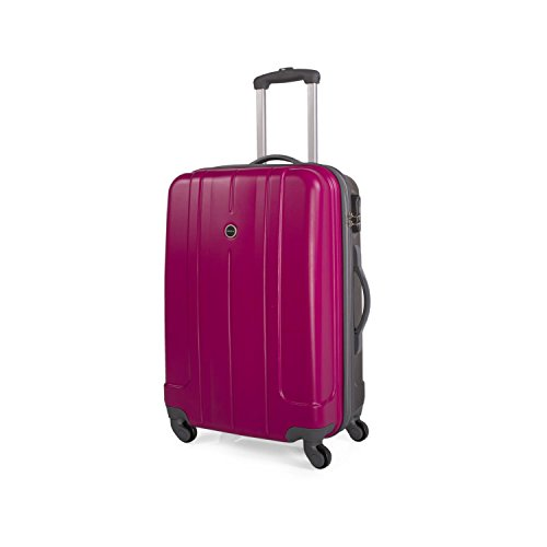 Itaca Trolley ABS Mediano - Fucsia - Gris oscuro