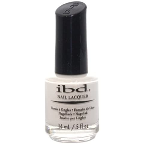 IBD Nail Lacquer, Carte Blanche, 0.5 Fluid Ounce by IBD