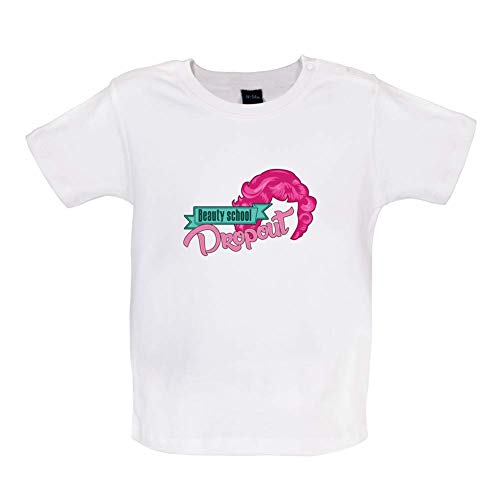 Beauty School Dropout Witziges Baby T-Shirt - Weiß - 3 bis 6 Monate