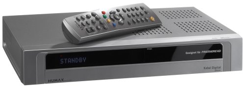 Humax PR-HD 1000 Digitaler HDTV Satelliten-Receiver silber