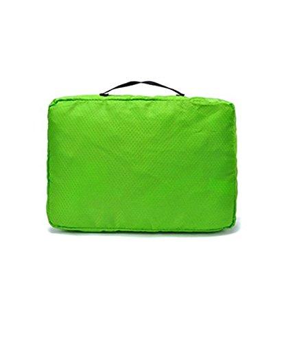 Bestland 3 Pcs Verpackung Cubes Kofferorganizer Packtaschen Koffer Wäschtaschen Kleidertaschen Luggagebags Packwürfel Set Haushaltsware Reise Pack (Grün)
