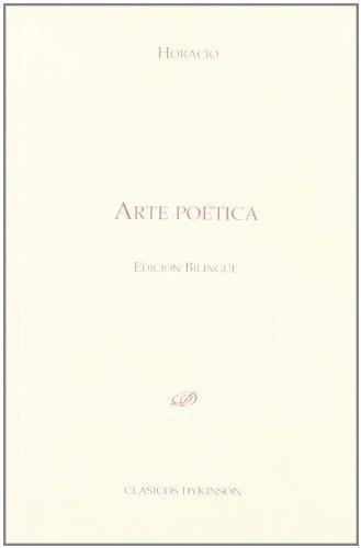 Arte poetica / Poetic art Cover Image