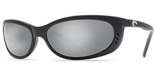 Costa Del Mar Fathom Sonnenbrille Schwarz Rahmen w/kupfer 2Objektiv, Herren, Frame: Black / Lens: Silver Mirror