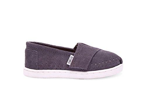 Toms Tiny Classic 13001d10, Unisexe Chaussures Enfant Ash Suede
