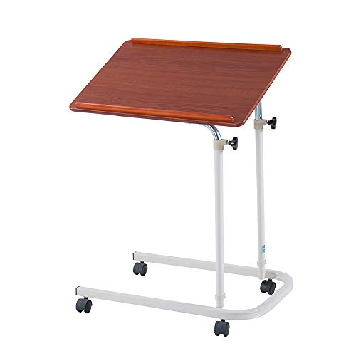 Cherry Küche Stuhl (Laptopständer DD Laptop-Tisch, Bodenständiger Nachttisch, Pflegetisch Für Senioren, Beweglicher Esstisch, Mit Feststellrad -Werkbank (Farbe : Red Cherries))