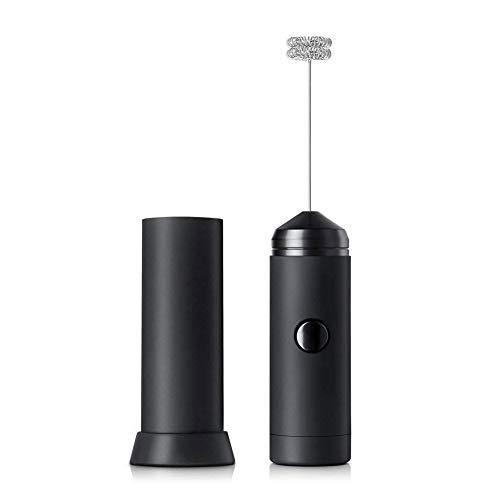 CONRAL Milchaufschäumer Handheld Foam Maker für Lattes, Elektro-Mixer für Schneebesen, Mini-Blender und Schäumer, perfekt für Cappuccino, Frappe, Matcha, heiße Schokolade