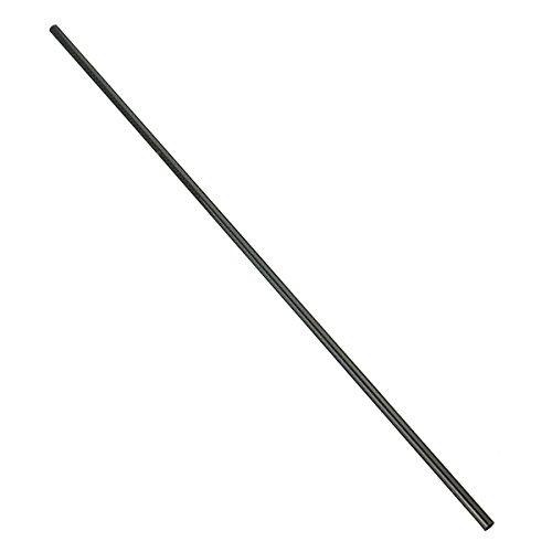 KUNSE 2 Stücke 8mmx6mmx500mm 3k Kohlefaser Rohr Schwarz Carbon Rohr - Faser Rohr 3 Carbon