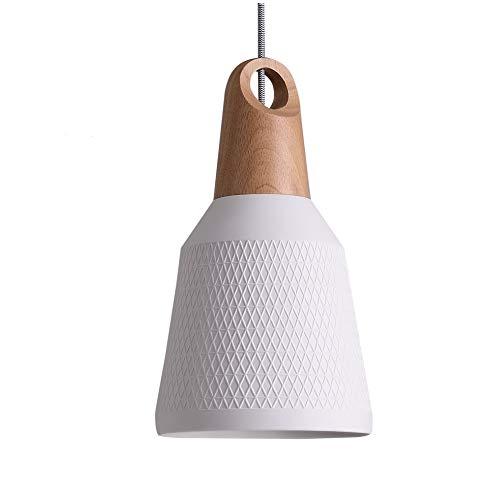 Matiere Pendelleuchte Retro Hängeleuchte Lampenschirm für E27 Leuchtmittel, Kable Length 1.2M für Wohnzimmer/Küche/Büro/Buchhandlung/Schlafzimmer/Flur Hauptdekoration 2018 NEU(ohne Birne)