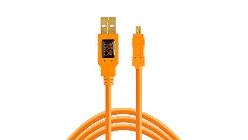 USB-Kabel TetherPro USB 2.0A/Mini-B 8-polig 15'Org [tet-cu8015-org]