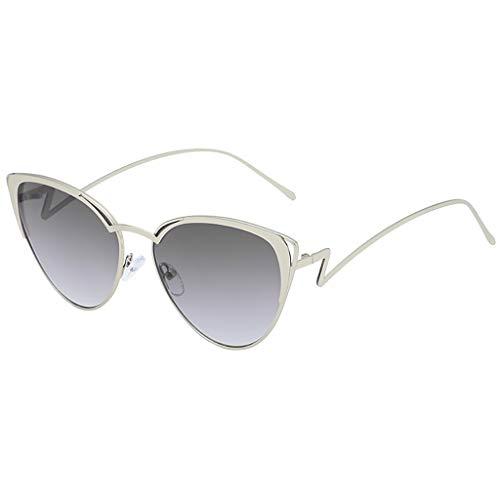 Moika eyeglasses occhiali da sole con montatura in metallo, occhiali da sole unisex con montatura irregolare eyewear occhiali
