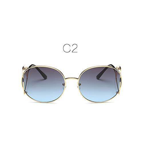ZHENCHENYZ Mode Frauen runden optischen Rahmen Vintage Metall Gold umrandeten Brillen Brillen optische Gläser