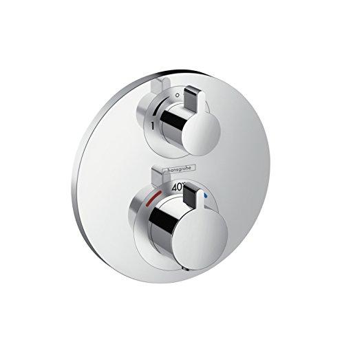 hansgrohe Ecostat S Unterputz Thermostat, 2 Verbraucher, chrom