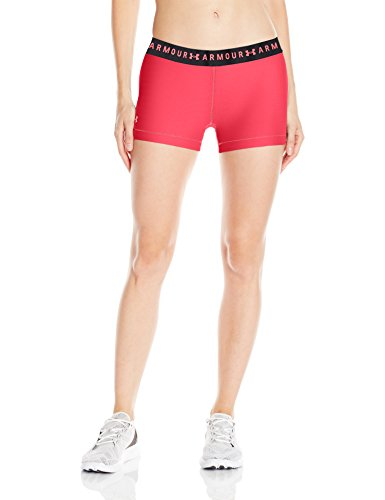 Under Armour Damen UA HG Armour Shorty Kurze Hose, Coral Cove, SM