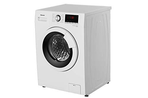Hisense WFHV7014 Waschmaschine Frontlader/A+++ / 1400UpM / Trommelreinigungsprogramm - reinigt die Trommel ganz ohne Chemie/Weiß