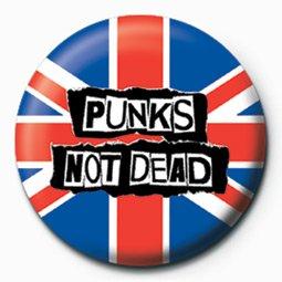 Punks Not Dead-BADGE