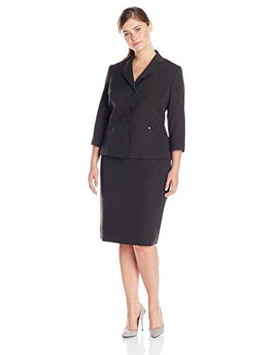 Tahari ASL Women's Plus-Size Laura Skirt Suit