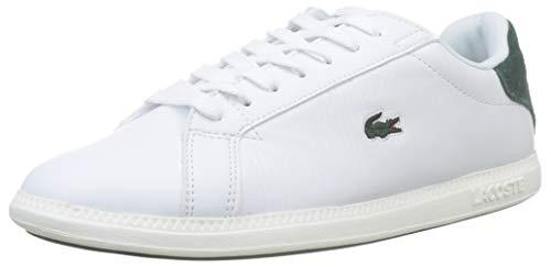 Lacoste Damen Graduate Bl 1 SFA Sneaker, Weiß (Wht/Dk Grn 1r5), 38 EU