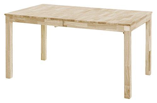 Robas Lund, Tisch, Esszimmertisch, Sergio, Kernbuche/Massivholz, 80 x 140 x 76 cm, SEA140KB