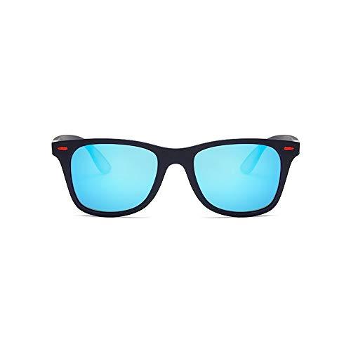 M.J.ZUR Sonnenbrillen Polarisierte Männer TR Sonnenbrillen Angeln Fahren Outdoor Ultraleichte Sonnenbrillen (Color : 03Blue, Size : Kostenlos)