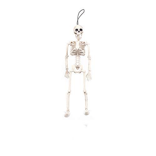 l Dekoration Set Halloween Skelett 40 * 10cm standfest 1 Packung für Halloweendeko Make-up-Party Halloween Dekoration ()