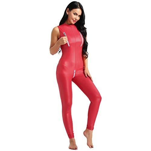 - Roten Spandex Anzug