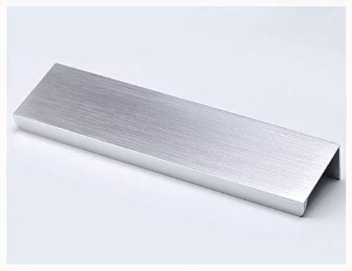 Versteckt Griff (kfz - Kabinett, Schublade, Türgriffe, versteckte Griffe, unsichtbare Tür, 10 Stück, silber)