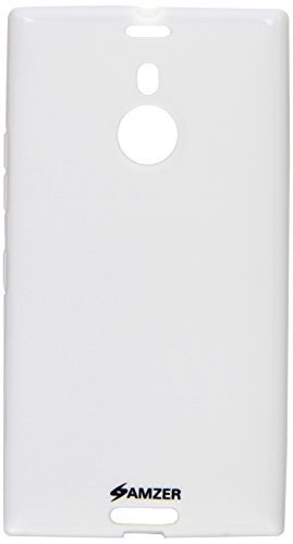 Amzer 96259 Pudding TPU Case - White for Nokia Lumia 1520  available at amazon for Rs.449
