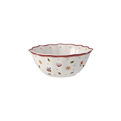 Villeroy & Boch Toy's Delight Petit bol, Porcelaine Premium, Blanc/Rouge