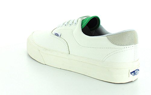 Vans Ua Era 59, Sneakers Basses Homme True White/Kelly Green