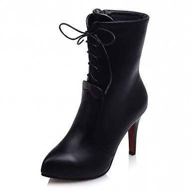 Moda Donna Sandali Sexy donna tacchi Primavera / Autunno / WinterHeels / Piattaforma / Cowboy / Western Stivali / Snow Boots Black