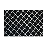 Pigeon Net Anti Bird Net Nylon with Attached Rope Around (White, 6x8 ft)