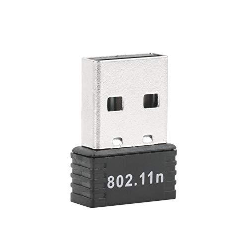 Justdodo 150Mbps 150M Mini USB WiFi Adaptador inalámbrico