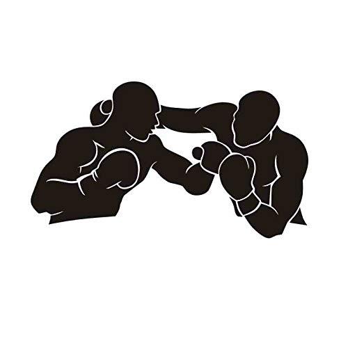 Boxhandschuh Aufkleber Kick Boxer Spielen Auto Aufkleber Free Combat Poster Vinyl Sturm Wandtattoos Dekor 58x102CM (Spiel Auto-aufkleber)