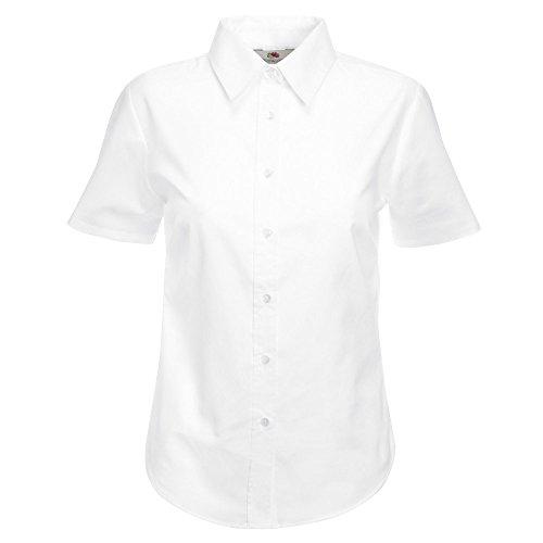Fruit of the LoomDamen Poloshirt White
