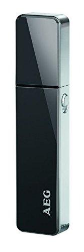 Elektrischer Nasenhaar-Trimmer Nasenhaarentferner Ohrhaarentferner (Edelstahl Scherkopf, LED Licht)
