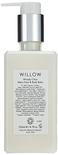 Willow Organic Beauty Men's Face and Body Balm 250 ml