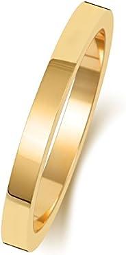 Anello Fede Nuziale Uomo/Donna 2mm in Oro giallo 9k (375) WJS188569KY