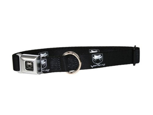 dodge-viper-seatbelt-buckle-dog-collar-small-9-15-inch-neck