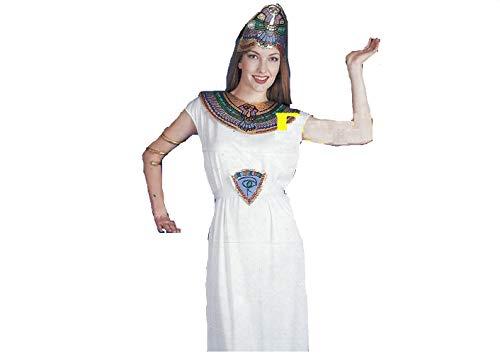 COSTUMI Novidea Costume Vestito Carnevale Egiziana Cleopatra Adulta Taglia Unica