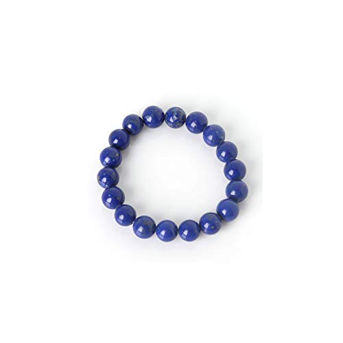 Edelstein Perlen Armband Charm Bracelet with Natural Stone Beads 6Mm 8Mm 10Mm Purple Amethysts Beaded Bracelet for Man Women Jewelry Qingjin 8mm Beads