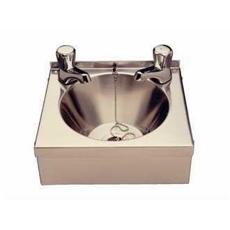 Nextday Catering P088 modelo un lavabo Mini, Acero inoxidable