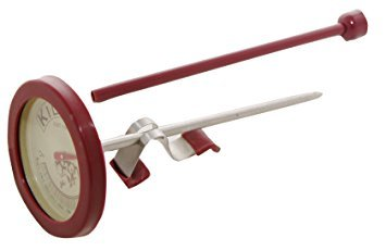 Kilner Cooks Thermometer with Lid Lifter, Silver