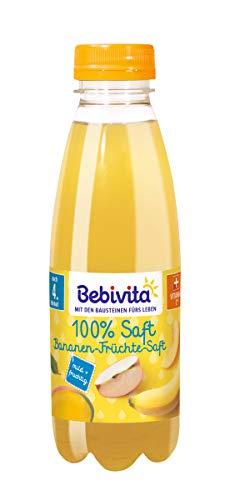 Bebivita Bananen-Früchte-Saft, 6er Pack (6 x 500 ml)