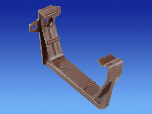 wavin-osma-4t819n-squareline-juego-de-soportes-para-canalones-100-mm-2-unidades-color-marron