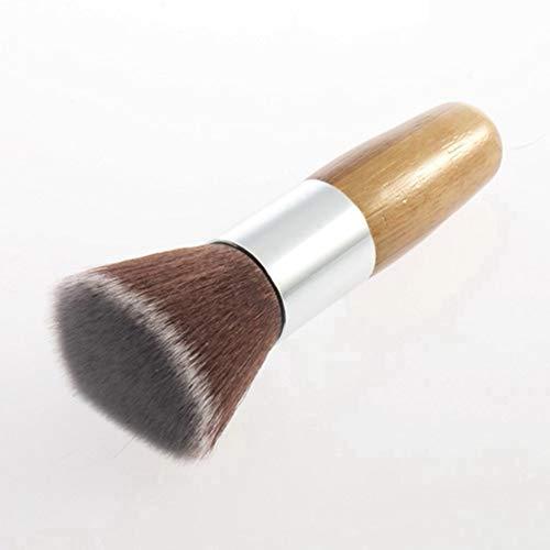 Weiche Flache obere Puffer-Grundlagen-Puderpinsel, kosmetische Salon-Bürsten-grundlegendes Bürsten-Gesichtsverfassungs-Werkzeug - Flache Buffer Pinsel