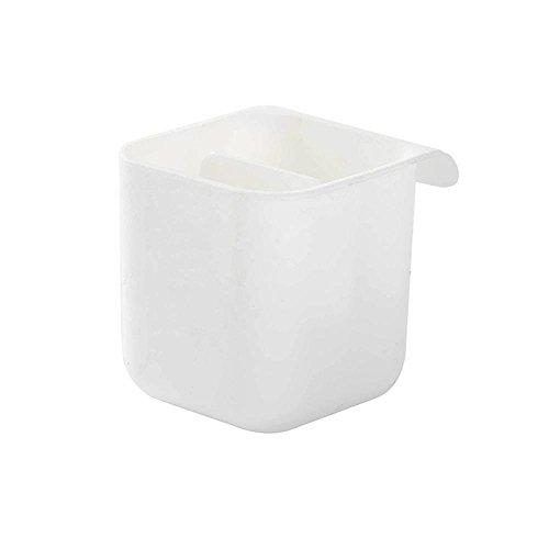 ldschirm Bleistift Inhaber [2018Neueste für] Schreibtisch Organizer Desktop Zubehör Taschen Unter Schreibtisch Container Aufbewahrungsbeutel White,Cube ()