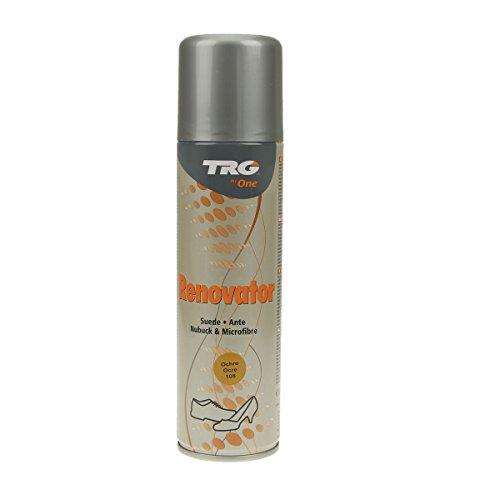 Langlauf Schuhbedraf TRG Renovator Wildleder Nubuk Microfaser Pflegespray Imprägnierspray (ocker)