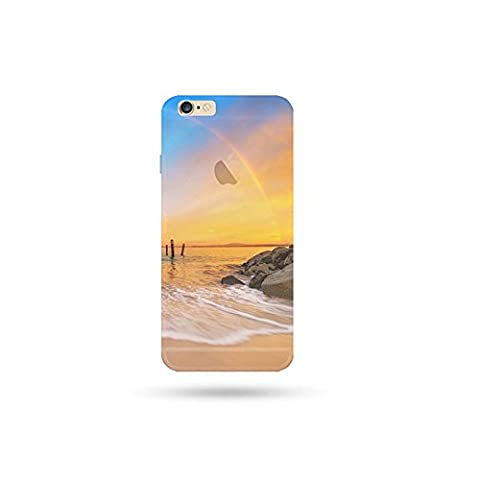 Jinberry Soft TPU Slim Case with Dust Plug for iphone5s / SE Plus Colourful Printing Pattern, Ultra Thin Fit 0.5mm Scratch Resistant Silicone Shell for Apple iphone 5S / SE - Sunset
