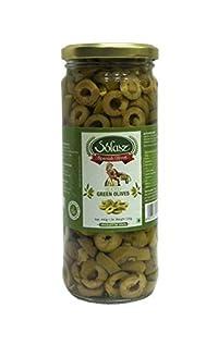 Solasz Green Sliced Olives-230g